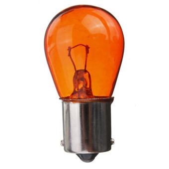 4PCS 12v Amber Orange Indicator Light Car Bulbs 581 / PY21W / BA15s Off Set Pins (Intl)