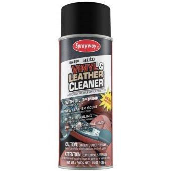 Chai Xịt Vệ Sinh Đồ Da Sprayway Vinyl Leather Cleaner Từ Mỹ (Nâu Đen)