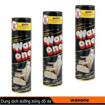 Wax1 xịt bóng da , đồ gỗ , nhựa.. 450ml Made in Thailand