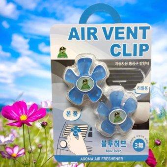 Nước hoa làm thơm và khử mùi cho xe ô tô Air Vent Clip Korea ( Hương thảo mộc )