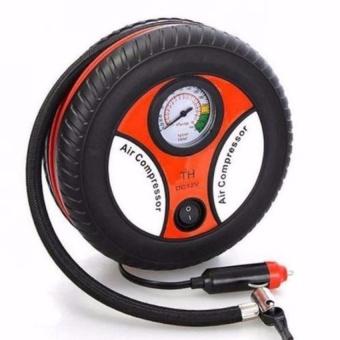 Mua Máy bơm lốp xe hơi xe máy mini đồng hồ 12V cồng mồi thuốc giá tốt nhất