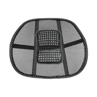 Mesh Lumbar Back Brace Support Car Seat Chair Cooling Cushion