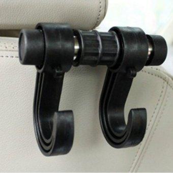Bộ móc treo đồ tiện dụng trên ô tô HQ STORE 0TI81-1 (đen)