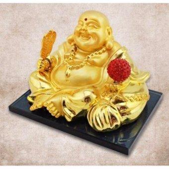 Phật Di Lặc để taplo chạy năng lượng mặt trời