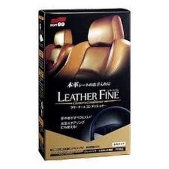 Dung dịch làm sạch và bảo dưỡng ghế da Leather Fine-Cleaner & Conditioner SOFT99
