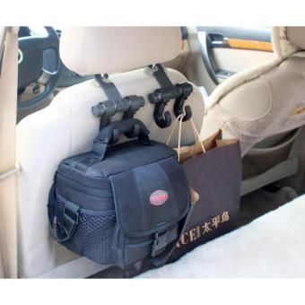 Móc treo đồ trên ô tô xoay 360 độ (chịu lực 10kg)