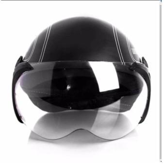 Mũ bảo hiểm SPO (Đen)