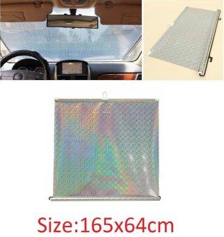 Che chắn nắng kính sau kéo dài 165x64cm cho ô tô SM12