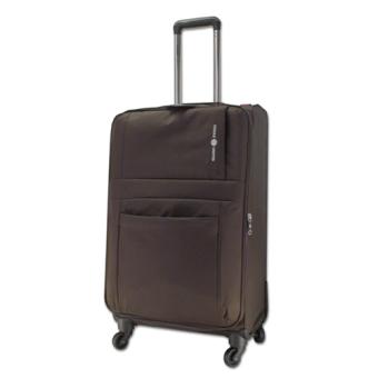 Vali kéo du lịch vải siêu nhẹ Cosas United size M nâu đen TA150