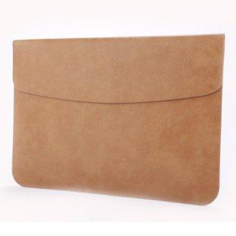 Túi da cho Macbook Air 11inch cao cấp (Nâu)