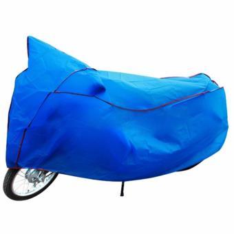 Bạt phủ xe chống nóng siêu dai ( Xanh)