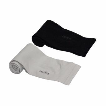 Bộ 2 cặp găng tay chống nắng UV xỏ ngón Lets Slim Aqua X (Đen phối xám)