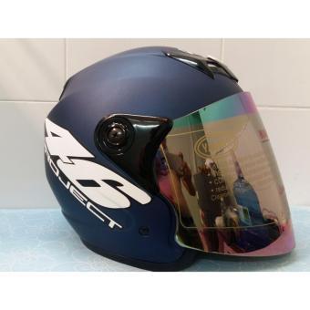 Mũ Bảo Hiểm Moto Napoli tem 46 ( xanh nhám)