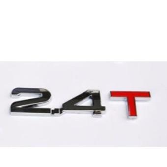 Decal dung tích ô tô (2.4T)