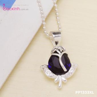 Mặt dây chuyền nữ trang sức bạc Ý S925 Bạc Xinh PP1333MD