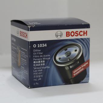 Lọc nhớt (dầu) Oil filter BOSCH O 1034 (Đen)