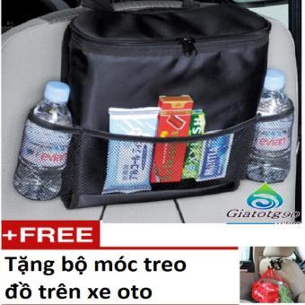 Túi Đựng Đồ Lạnh Du Lịch Trên Ôtô Tặng Kèm Bộ Móc Treo Đồ Tiện Dụng HQ206066-081