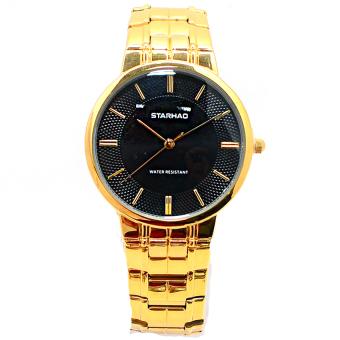 Đồng hồ nam dây thép STARHAO SH09 (Vàng)