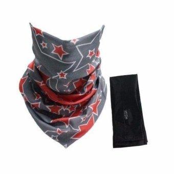 Bộ khăn đa năng, găng tay xỏ ngón Lets Slim Aqua X chống nắng UV đi phượt