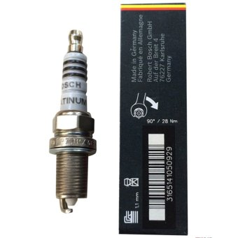 Bugi Bosch FR7DPX Platium chân ngắn (Bạc trắng)