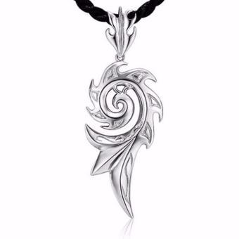 Dây chuyền vòng cổ nam nữ Phoenix mạ bạc