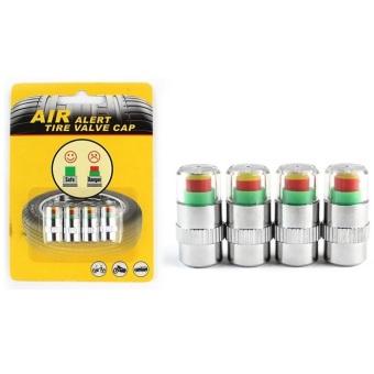 Bộ 4 thiết bị kiểm tra áp suất lốp xe hơi Sonic Alert