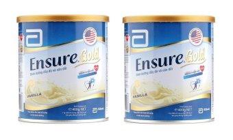 Bộ 2 sữa bột cho người lớn ABBOTT Ensure Gold 400g