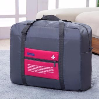 Túi du lịch chống thấm gấp gọn (Hồng)