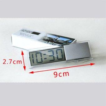 Đồng hồ điện tử mini gắn kính ô tô