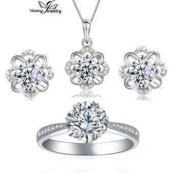 Bộ trang sức bạc thời trang SBT02B