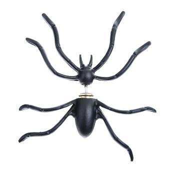 Bông tai 1 bên hình con nhện Halloween (Màu đen)