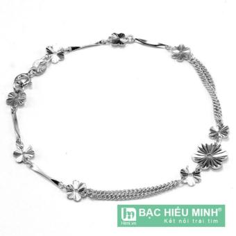 Lắc tay nữ Bạc Hiểu Minh ltu009 (Bạc)