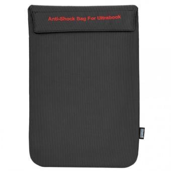 Túi chống sốc Ultrabook Ronal TCS03 (Đen Đỏ) Macbook