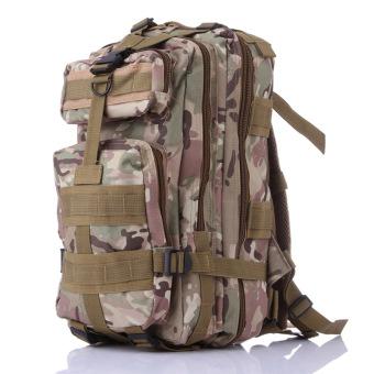 Ba lô du lịch PHƯỢT phong cách quân đội (Xanh lá)