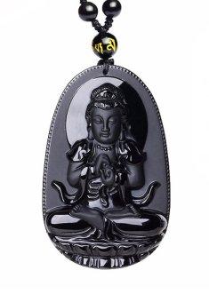 Mặt Mặt Ngọc Obsidian Phật Như Lai Ali Chien Chien Shop