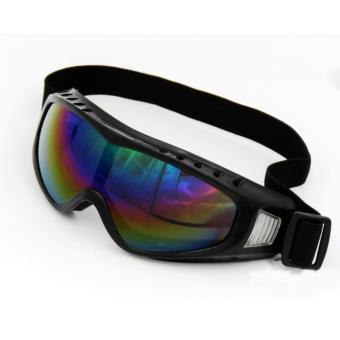 Mắt Kính Đi Phượt chống bụi và tia UV X400 2017 - Tráng bạc 7 màu