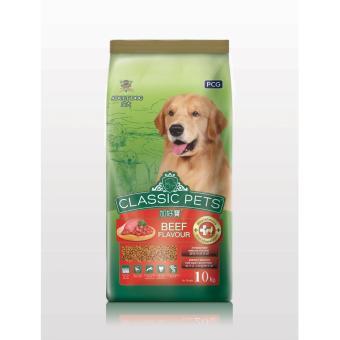 Thức ăn Classic Pets dành cho chó lớn hương vị thịt bò nướng 10 kg