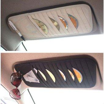Bộ 2 túi kẹp đĩa CD trên ô tô
