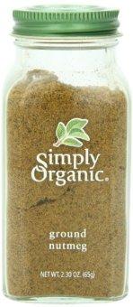 Bột Nutmeg Nhục Đầu Khấu sạch Simply Organic 65 gr