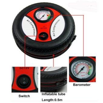 Bơm lốp điện Air Compressor cho Oto (Đen)