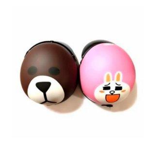 Bộ mũ bảo hiểm tình nhân Gấu & Thỏ