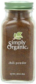 Bột ớt sạch Simply Organic 82g