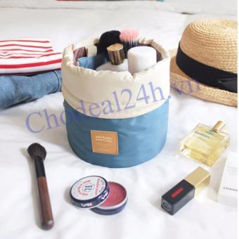 Túi đựng mỹ phẩm chống sốc khi đi du lịch (xanh )