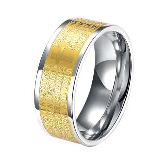R010-A-8 Fahion titaniu tee ring TGR010-A-10
