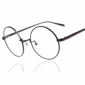 Mắt kính ngố cao cấp thời trang nam nử dễ thương (đen)