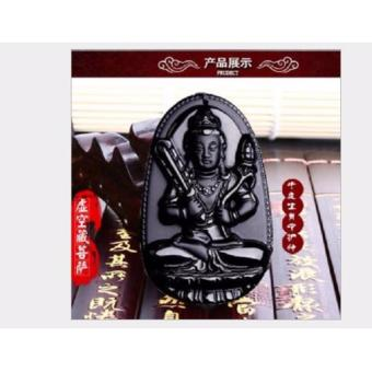 Dây chuyền nam mặt Phật Hư Không Bồ Tát Độ Mệnh Tuổi Sửu-Dần-DC6