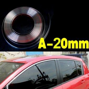 Nẹp viền kính ô tô loại A20mm