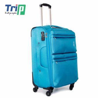 Vali Vải TRIP P033 Size L - 28inch (Xanh thiên thanh)