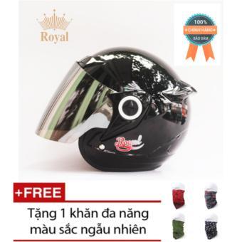 Mũ bảo hiểm 3/4 Royal M168 Chính Hãng + Tặng 1 khăn đa năng màu sắc ngẫu nhiên