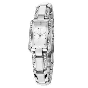 Đồng hồ nữ dây thép không gỉ Kimio KW538S-SY01 mặt trắng